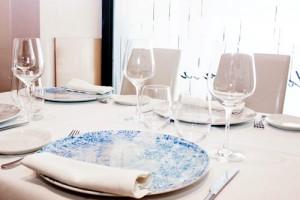 Mesa restaurante Saraiba
