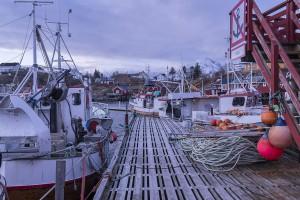 pesca en noruega